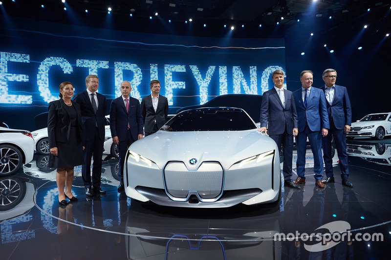 BMW Group press conference IAA Cars 2017