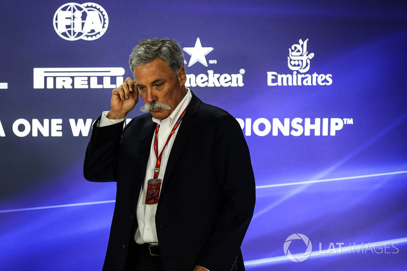 Pressekonferenz: Chase Carey, Formel-1-Chef