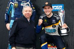 Anton Marklund, Marklund Motorsport Volkswagen Polo, avec Jean Todt, président de la FIA