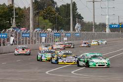 Agustin Canapino, Jet Racing Chevrolet, Emanuel Moriatis, Martinez Competicion Ford, Gaston Mazzacan