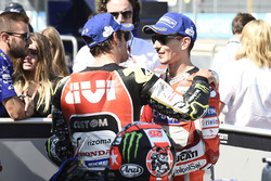 Кэл Кратчлоу, Team LCR Honda, и Хорхе Лоренсо, Ducati Team
