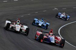Tristan Vautier, Dale Coyne Racing Honda, Alexander Rossi, Herta - Andretti Autosport Honda