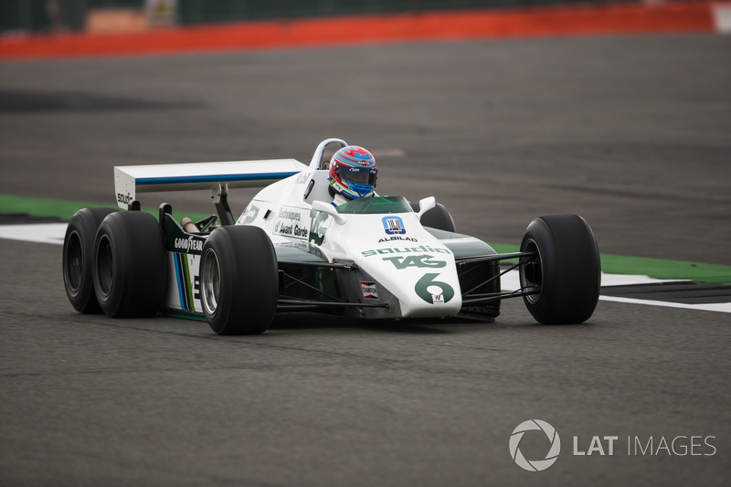 Paul di Resta, 1982 Williams FW08B Cosworth, 6 tekerlekli F1