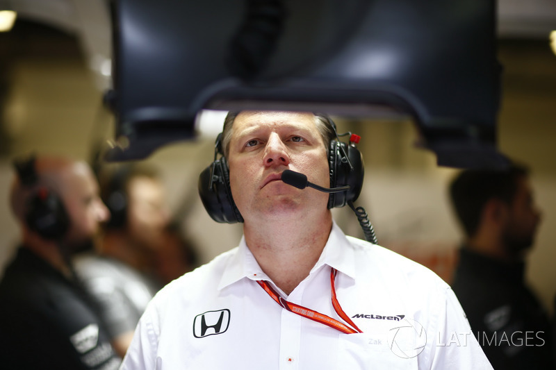 Zak Brown, Director ejecutivo de McLaren Technology Group