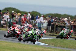 Jonathan Rea, Kawasaki Racing, yarış galibi Phillip Island, 2015
