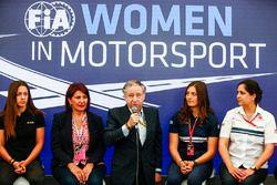 Marta Garcia, Renault Sport F1 Team Sport Academy, Michelle Mouton, Jean Todt, President, FIA, Tatia