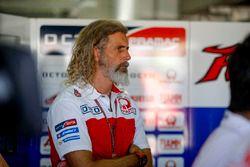 Alex Ghini, Pramac Racing hospitality manager