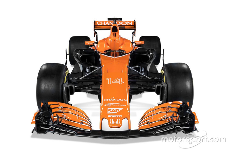 F1  El nuevo McLaren MCL32