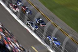 Dale Earnhardt Jr., Hendrick Motorsports Chevrolet en Kasey Kahne, Hendrick Motorsports Chevrolet