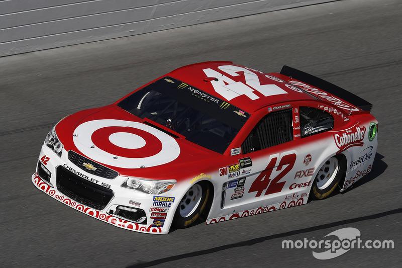 12. Kyle Larson, Chip Ganassi Racing, Chevrolet
