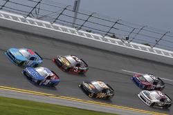Matt Tifft, Joe Gibbs Racing Toyota Casey Mears, Biagi-DenBeste Racing Ford
