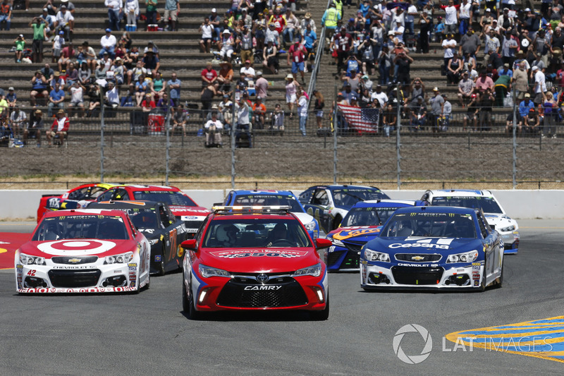 toyota pace car at sonoma. Black Bedroom Furniture Sets. Home Design Ideas
