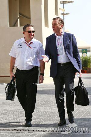 Zak Brown, McLaren Dİrektörü