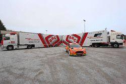 Ford Fiesta R5 Orange1 Racing di Simone Campedelli e Danilo Fappani