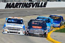Johnny Sauter, GMS Racing, Chevrolet; Christopher Bell, Kyle Busch Motorsports, Toyota