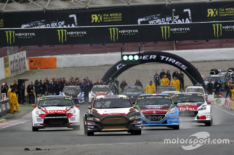 Start: Kevin Eriksson, MJP Racing Team Austria, Ford Fiesta ST, führt