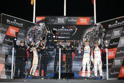 Podio: ganador de la carrera #84 Mercedes-AMG Team HTP Motorsport, Mercedes-AMG GT3: Maximilian Buhk