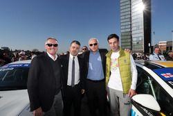 Marcello Lotti, TCR et Davit Kajaia, GE-Force with guests