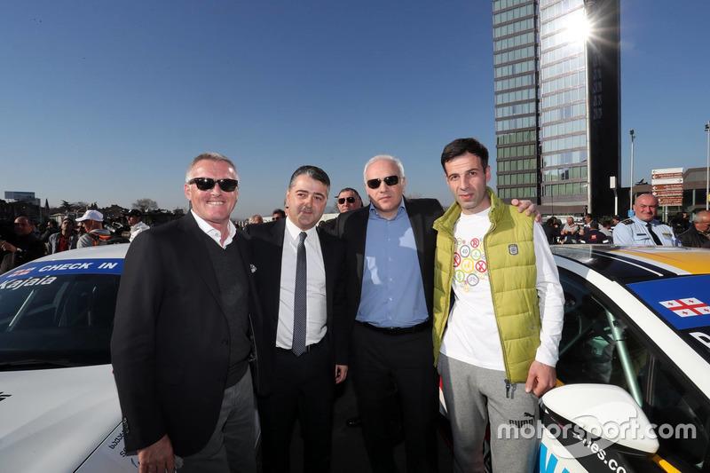 Marcello Lotti, TCR-Chef; Davit Kajaia, GE-Force