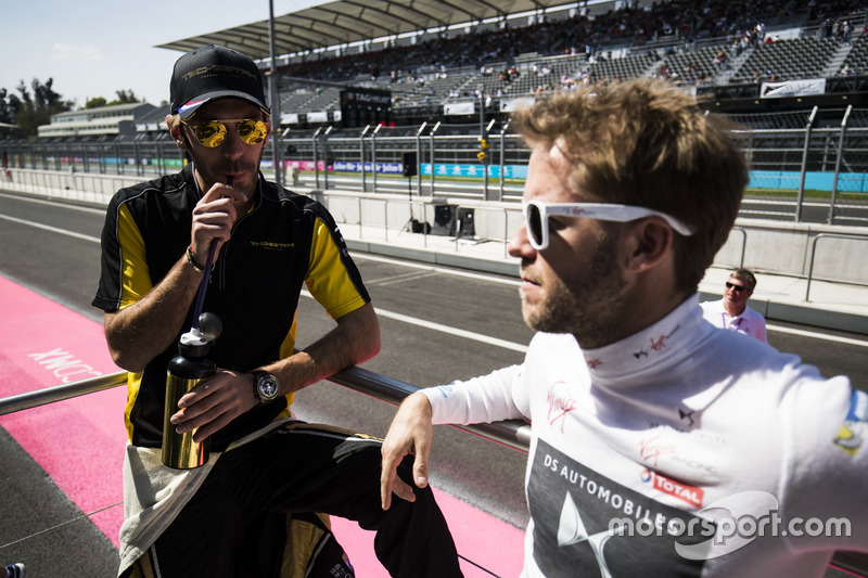 Jean-Eric Vergne, Techeetah e Sam Bird, DS Virgin Racing