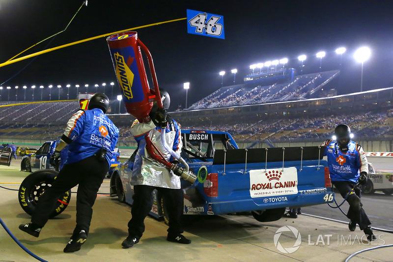 Kyle Busch, Kyle Busch Motorsports Toyota pit stop