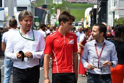 Charles Leclerc, Prema Racingm y Nicolas Todt