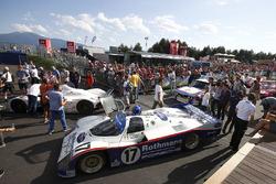 1986/1987 Porsche 962c formerly raced by Hans-Joachim Stuck