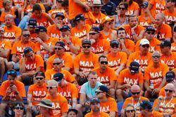 Enttäuschte Fans von Max Verstappen
