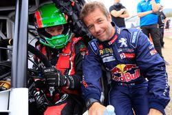 Albert Llovera with Sebastien Loeb