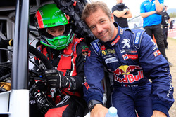 Albert Llovera with Sebastien Loeb