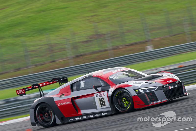#16 Audi Sport Team Phoenix Audi R8 LMS, Pierre Kaffer, René Rast, Markus Winkelhock