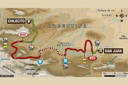 10. Etappe: Chilecito - San Juan