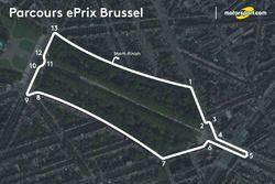 Parcours ePrix Brussel
