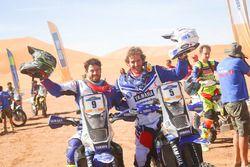 Tercer lugar Franco Caimi, winner Xavier de Soultrait