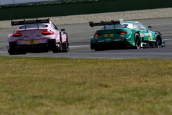 Lucas Auer, Mercedes-AMG Team HWA, Mercedes-AMG C63 DTM, Loic Duval, Audi Sport Team Phoenix, Audi R