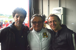 Max Gazzè, Gian Carlo Minardi e Luca Badoer