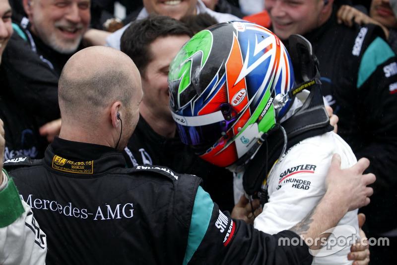 second place Gary Paffett Mercedes-AMG Team HWA, Mercedes-AMG C63 DTM