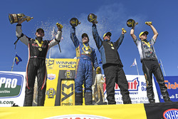 1. Top Fuel: Steve Torrence; 1. Funny Car: Ron Capps; 1. Pro Stock: Bo Butner; 1. Pro Stock Bike: LE