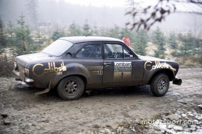 Timo Makinen, Henry Liddon, Ford Escort RS1600