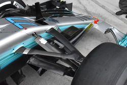 Mercedes AMG F1 W08, detay