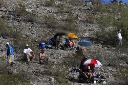 Fans sur la colline