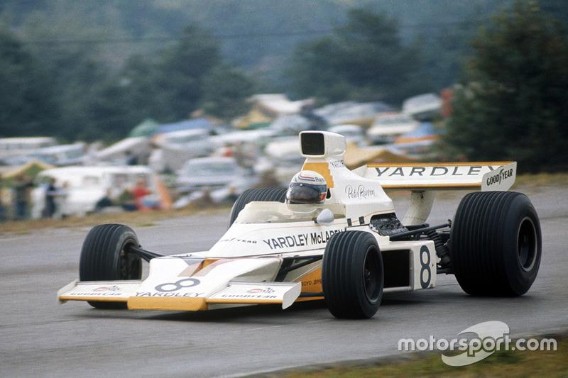 1973-1977: McLaren M23 Ford-Cosworth (16 побед, 3-е место в КК в 1973-м, титул в 1974-м, 3-е место в 1975-м, 2-е место в 1976-м)