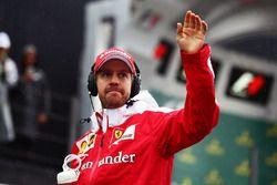 Fahrerparade: Sebastian Vettel, Ferrari
