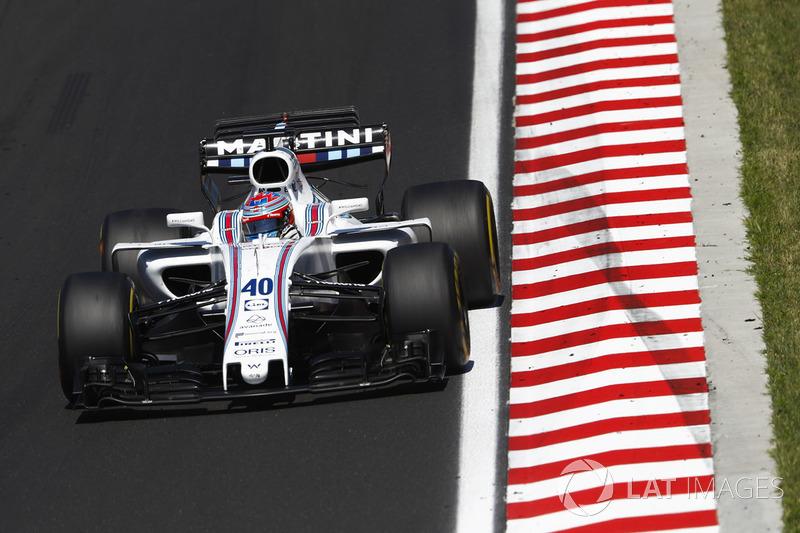 2017 год. Пол ди Реста. 1 гонка в Williams