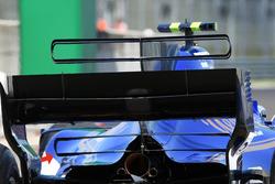 Sauber C36, rear