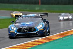 #18 Black Falcon Mercedes-AMG GT3: Gabriele Piana, Abdulaziz Al Faisal, Hubert Haupt, Renger van der
