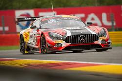 #89 Akka ASP Mercedes-AMG GT3: Daniele Perfetti, Alex Fontana, Ludovic Badey, Nico Bastian