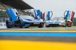 Road version Ford GT and GTE-Pro Ford GT