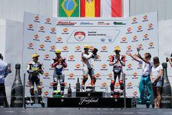 Podium Race 1 CEV Moto2 European Championship