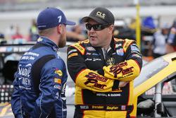 Brendan Gaughan, Richard Childress Racing Chevrolet Justin Allgaier, JR Motorsports Chevrolet